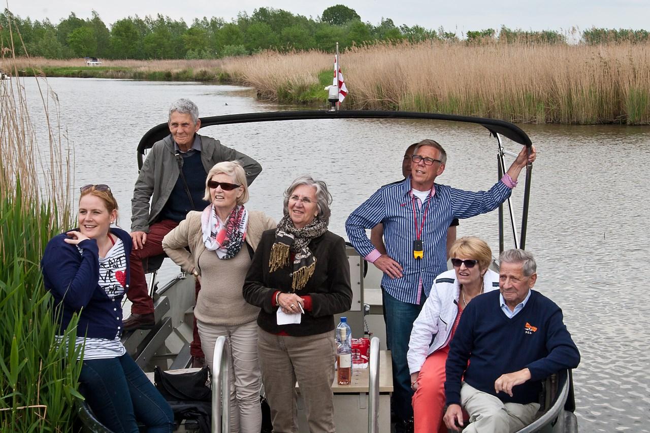 Fluisterboot Biesbosch