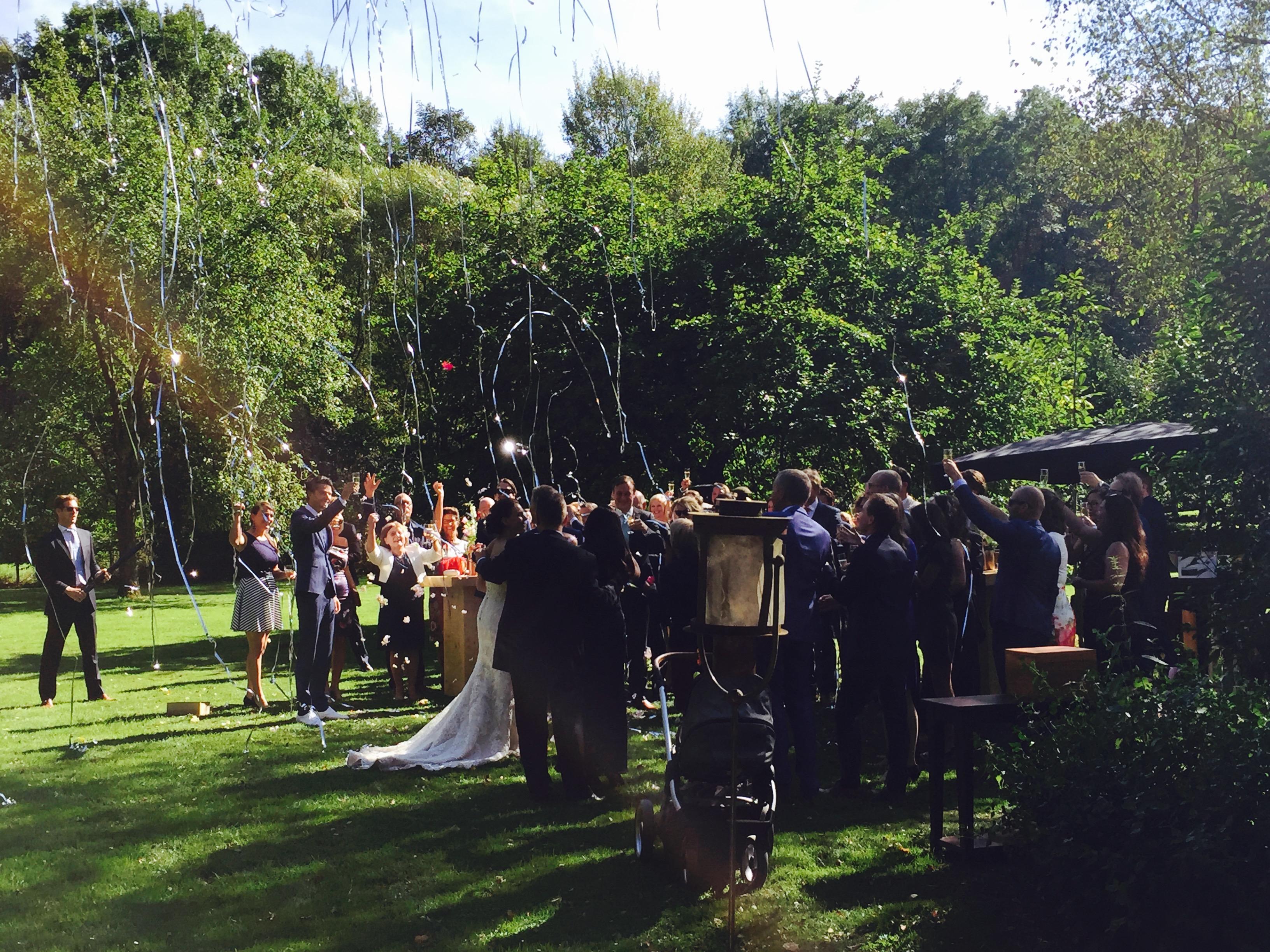 Bruiloft in de Belgische Ardennen