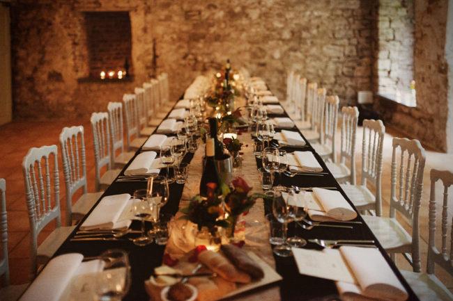 Dinertafel wedding