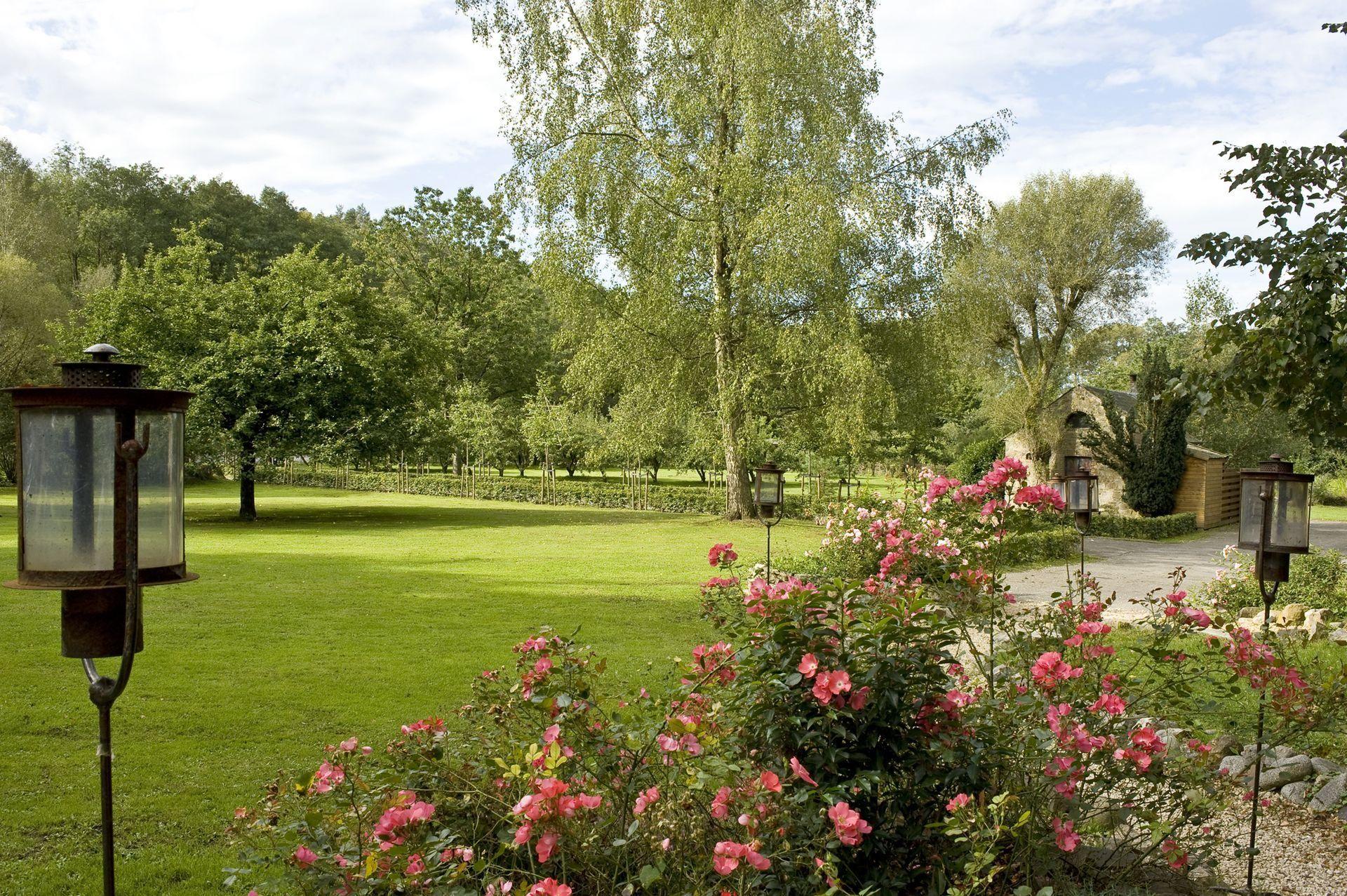 Landgoed met tuin