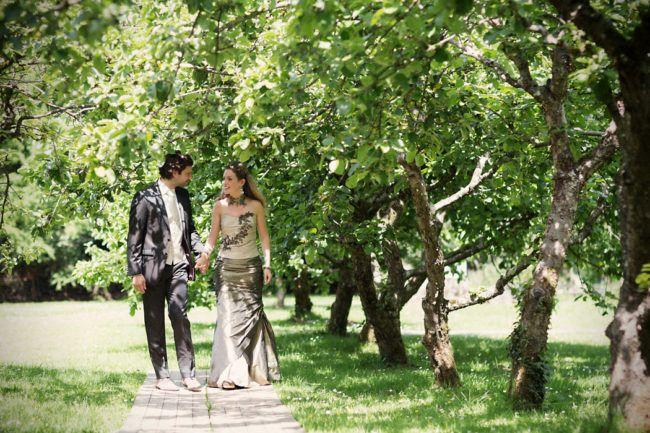 Trouwen in appelboomgaard