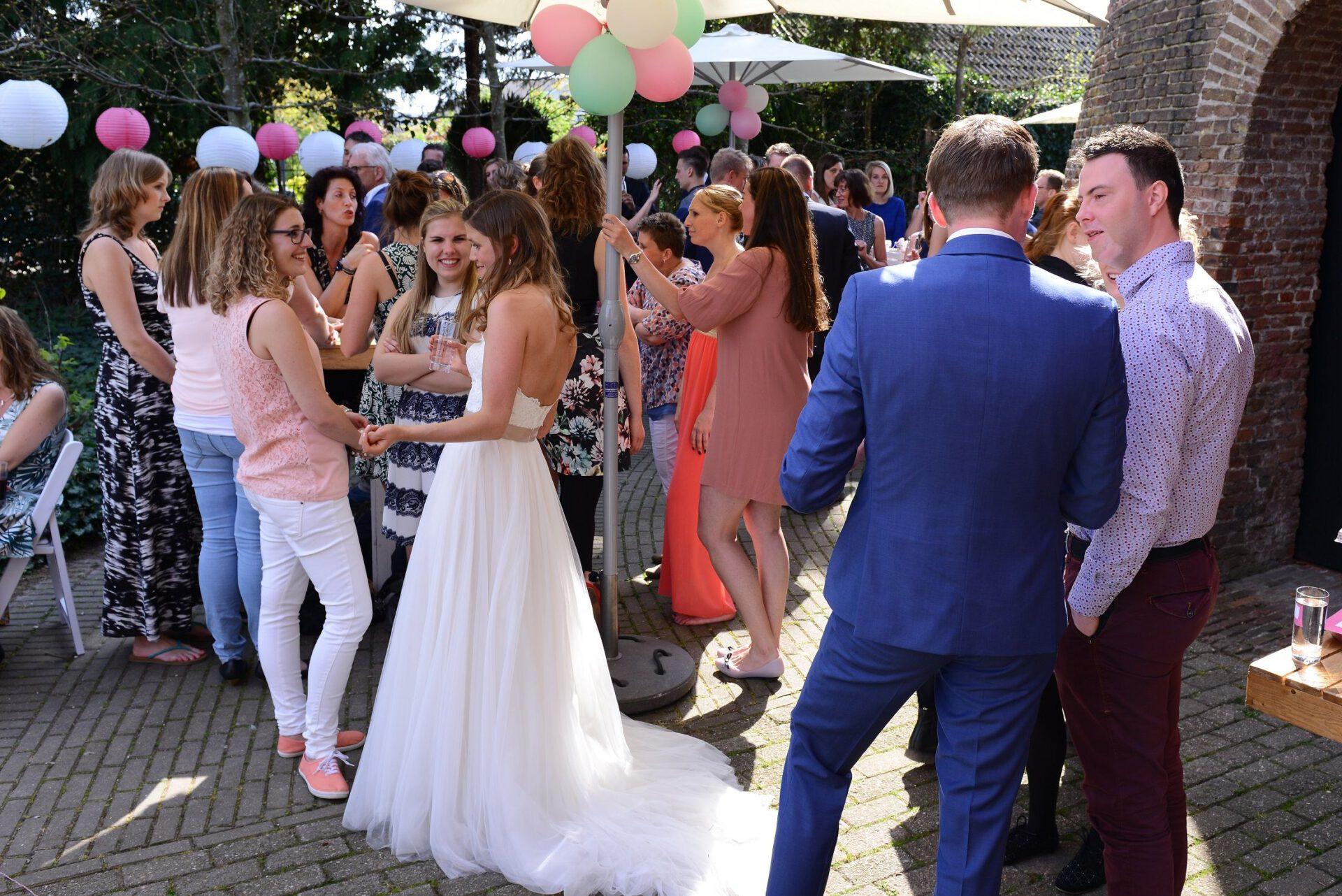 Weddingreceptie buiten