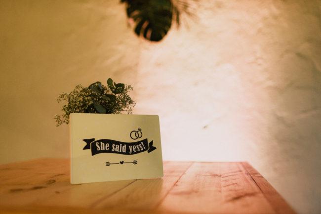 Tafeldecoratie trouwen