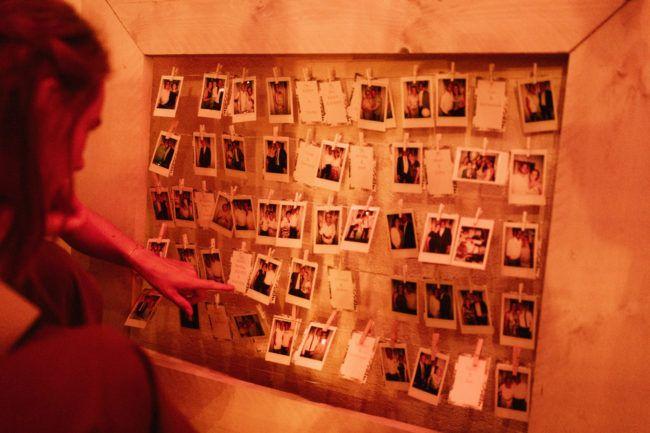 Bruiloft polaroid