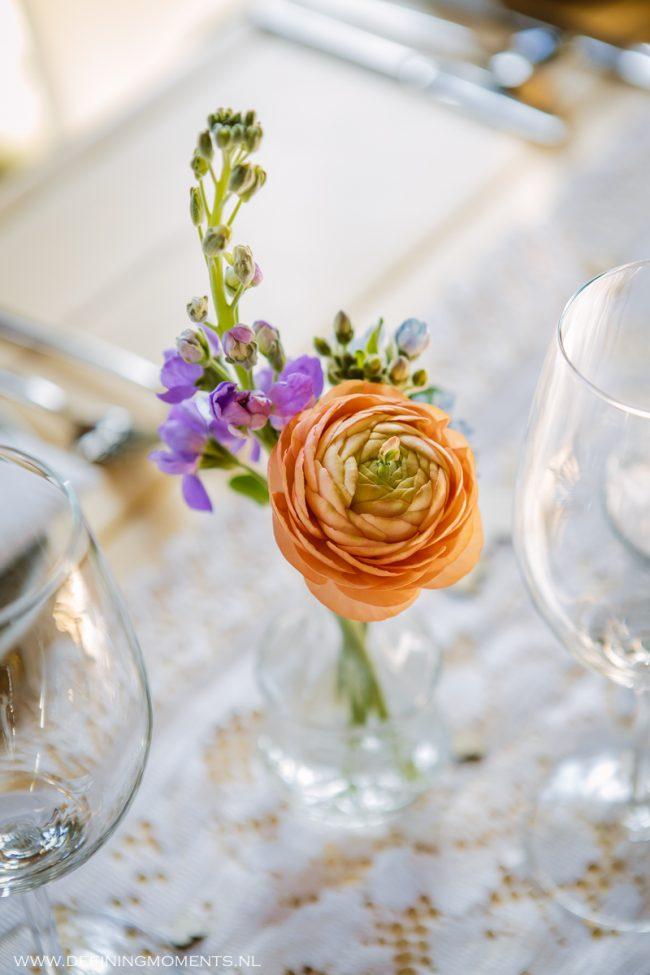 Bloemdecoratie bruiloft