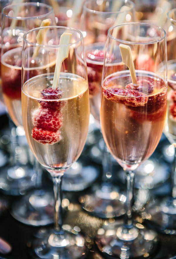 Welkomsdrankje bruiloft