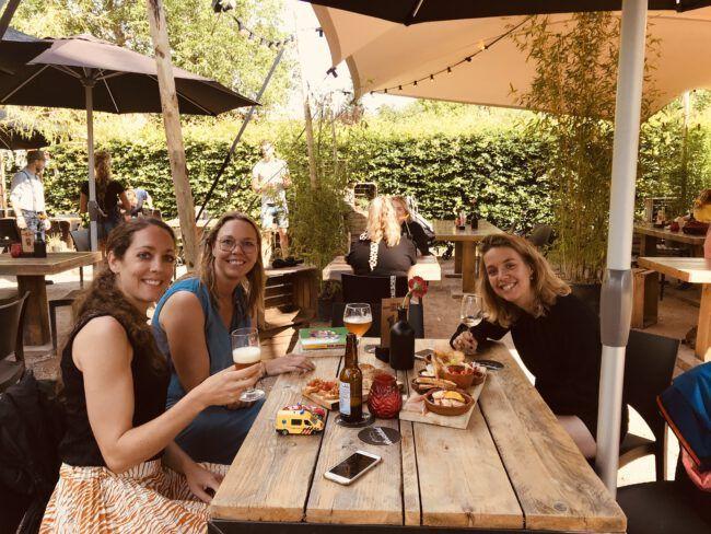Pop up festivalterras Breda