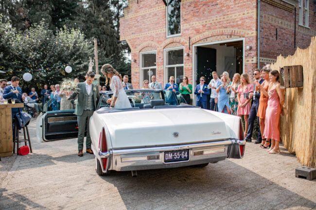 Ontvangst bruidspaar Korenmolen Princenhage