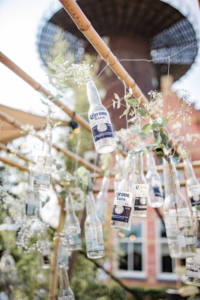 Decoratie festival bruiloft