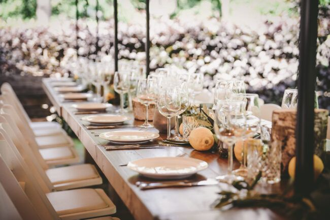 Italiaans thema bruiloft