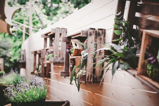 Festival decoratie bruiloft