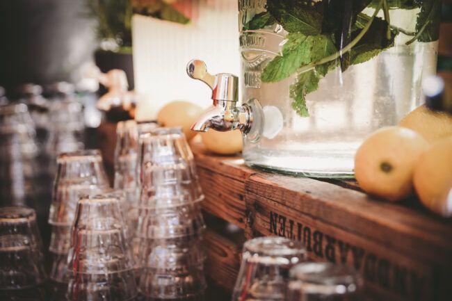 Borrel festival wedding