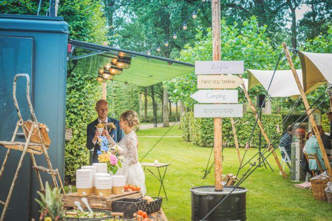 Foodtruck festival bruiloft
